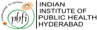 Indian Institute of Public Health Hyperabad logo